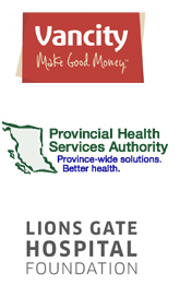 Vancity, Provincial Health Services Authority, Lions Gate Hospital Foundation