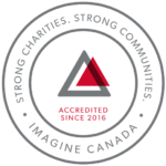 Accredited through Imagine Canada's national Standards Program